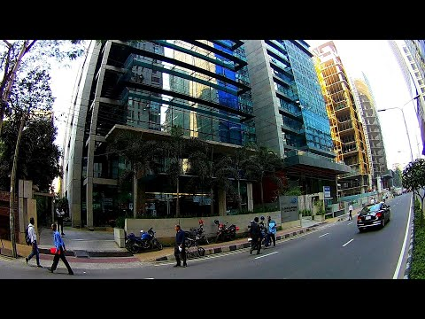 DHAKA Cinematic Look | Most Beautiful Dhaka Banani Street View | Digital Bangladesh