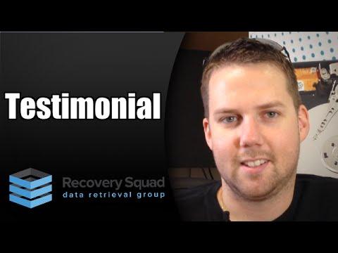 Testimonial Recovery Squad