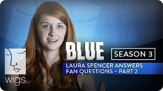 """Laura Spencer answers Twitter fan @fefinka's question: Blue is your third @WIGS production. Which one did you like best so far and would you do another cross over?""""BLUE"""" Season 3 now live in its entirety on Hulu.Watch """"Blue"""" from the beginning: http://wigs.ly/1gFAMNHSign up for WIGS email updates here:http://wigs.ly/13F0tJpLike us on Facebook: http://wigs.ly/NY4TlgFollow us on Twitter: http://wigs.ly/SUi368About """"Blue"""": Blue is a mother with a secret life. She'll do anything to keep it from her son. But her past has other plans.Starring: Julia Stiles, Carla Gallo, Alexz Johnson, Daren Kagasoff, Brooklyn Lowe, James Morrison, Jane O'Hara, Kathleen Quinlan, Uriah Shelton, Laura Spencer, Eric Stoltz, Jacob Vargas• Julia Stiles - Winner, IAWTV Award for Best Female Performance - Drama (2013 and 2014)• Rodrigo Garcia - Winner, IAWTV Award for Best Director - DramaAbout WIGS:Breaking new ground with award-winning scripted dramas for the digital age.General Inquiries: info@watchwigs.comPress: press@watchwigs.com"""