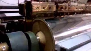 Turn Bar System with Web Guiding System for Lamination Machine – Krishna Engineering Works