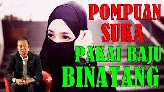 Ustaz Syamsul DEBAT Lawak - Orang Pompuan Paling Suka Pakai Baju BINATANG..Dahla Takdo Shape!