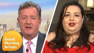 Video Piers Clashes With Model Angelina Duplisea on Whether Obesity Is Glorified | Good Morning Britain MP3, 3GP, MP4, WEBM, AVI, FLV Agustus 2019