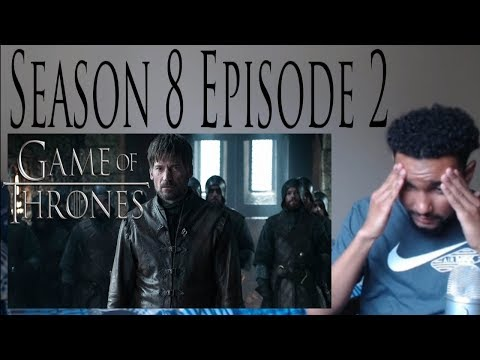 "Game of Thrones 8x2 REACTION!!! ""A Knight of the Seven Kingdoms"" Part 1"