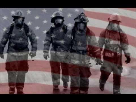 tributo al coraggio dei vigili del fuoco!