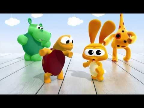 ¡Animales bailando el twist! BabyTV Español latino