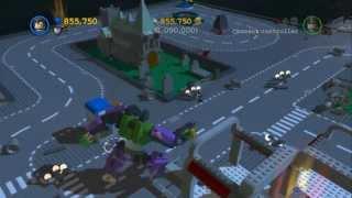 LEGO Batman 2 - LEGO Gotham City 1,000,000 Stud Challenge&Gold Brick
