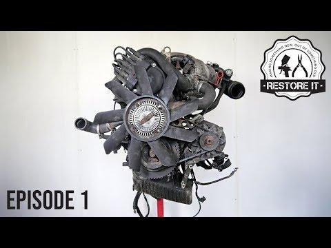 BMW E30 M20B25 Engine Restoration - Rebuild Time-Lapse | Part 1