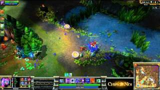 (HD056) 5c5 Go4LoL Pov Fureur -part2- League Of Legends Replay [FR]