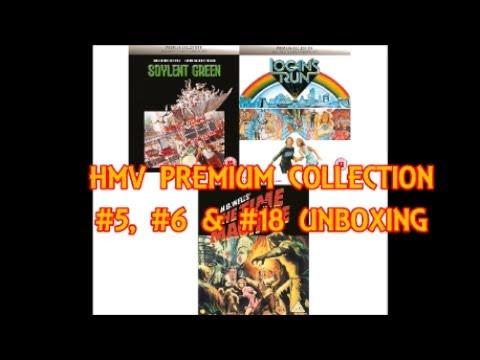 HMV Premium Collection: Soylent Green, Logan's Run & The Time Machine Unboxing