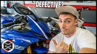 8. Problems with the 2017 Yamaha R6