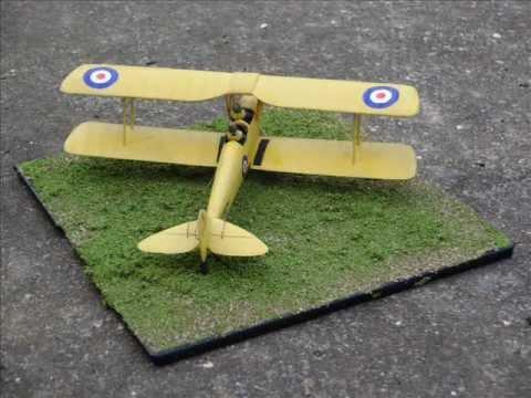 Building Review - AIRFIX - D.H. Tiger Moth - 1:72 Scale