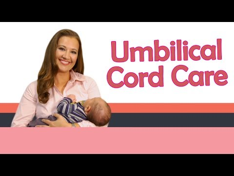 how to properly clean umbilical cord