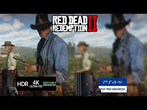 Xbox One X CONFIRMED To Play Red Dead Redemption 2 In