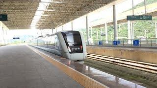 Zhangzhou China  city photos gallery : China Railways High-Speed HD: CRH1-1160A Departs Zhangzhou Station on Train D2316 5/12/15