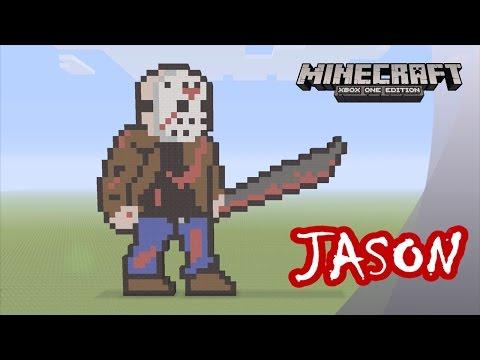 Download Minecraft: Pixel Art Tutorial and Showcase: Jason Voorhees ...