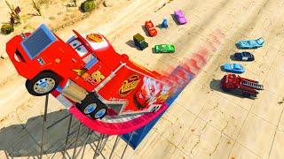 Video Disney Pixar Cars Mack Truck Lightning McQueen and Friends Videos for Kids Songs for Children MP3, 3GP, MP4, WEBM, AVI, FLV Juni 2017