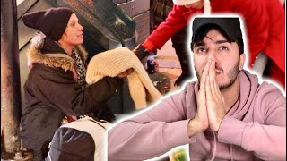 THIS WAS AN EMOTIONAL EXPERIENCE (HELPING THE HOMELESS)