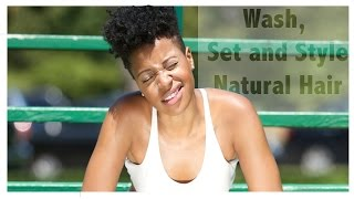 Let's Talk Hair | How I Wash, Shape & Style my Tapered Cut - YouTube
