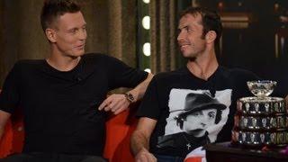 RadekŠtěpánek a Tomáš Berdych - Show Jana Krause 14. 12. 2012