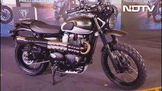 4. Mahindra XUV300, Honda CB300R, Triumph Street Twin & Street Scrambler, Steelbird SBA-1 HF Helmet