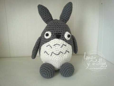 Kitty Mariquita Amigurumi : Crochet: Totoro Amigurumi tutorial popandcraft