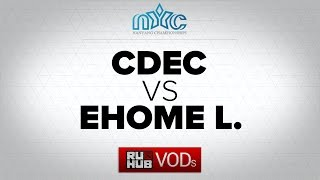 CDEC vs EHOME.L, game 1