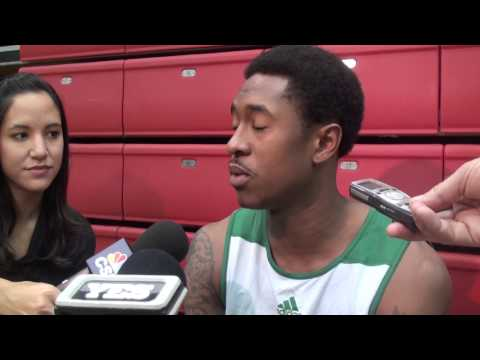 Video: MarShon Brooks Happy as a Boston Celtic