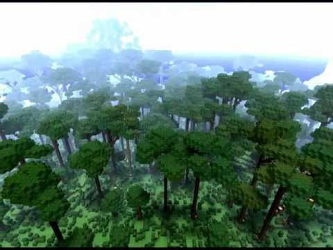 Minecraft Map - Costum Landscaping: 'Rainforest Valley' *Download*