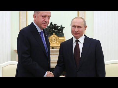 Russland/Türkei: Putin und Erdogan beraten über Syrien-Konflikt