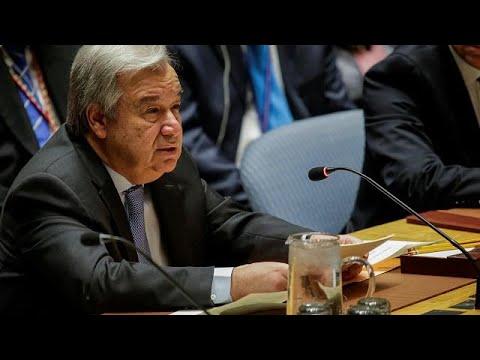 Syrienkonflikt: Guterres warnt vor