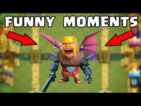 Clash Royale Most Funny Moments, Trolls, Fails & Clutches Compilation (видео)