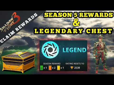 Shadow Fight 3 Season 5 Rewards And Legendary Chest Opening
