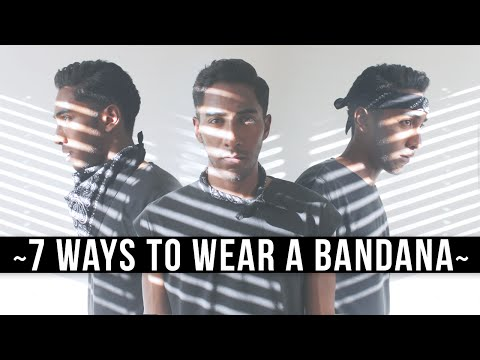 7 Ways To Wear A Bandana | What To Wear To Coachella (Festival Style) | Keani White
