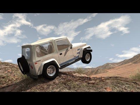 BeamNG.drive - Sandy Mountain (видео)