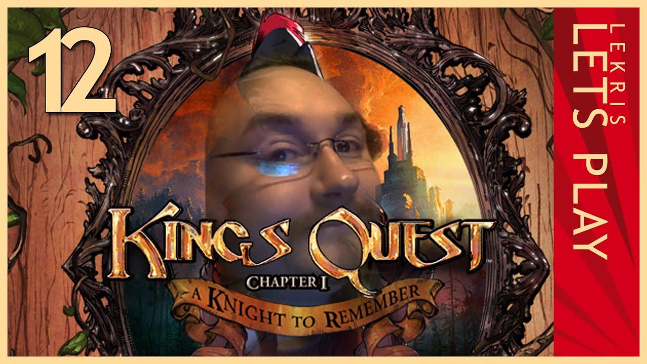 Let's Play King's Quest - Kapitel 1 - Der seinen Ritter stand #12 - Scharfsinnsduell mit Kuchen