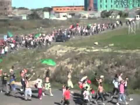 La Banda del Camion - Rampla Juniors llegando al trocoli - La Banda del Camion - Rampla Juniors