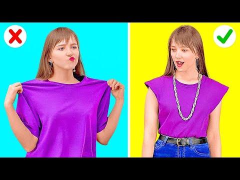 FAÇA COM ESTILO! || Dicas de Roupas para Resolver Rapidamente Qualquer Problema de Moda