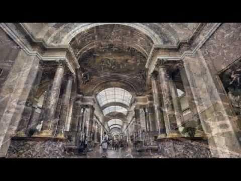 Das Louvre Museum - das meistbesuchte Kunst-Museum / Paris - France