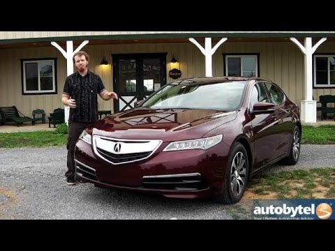 2015 Acura TLX Video Review