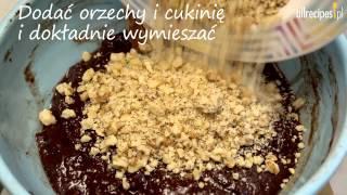 Przepis na ciasto czekoladowe z cukinii