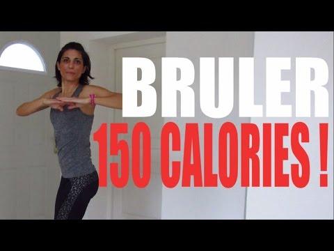 Brûler 150 calories : 9 exercices pour tout le corps (видео)