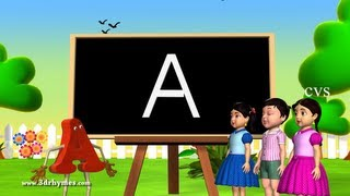 Alphabet songs | Phonics Songs | ABC Song for children - 3D Animation Nursery Rhymes