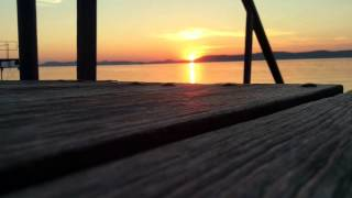Balatonlelle Hungary  City new picture : Sunset timelapse Balatonlelle Hungary