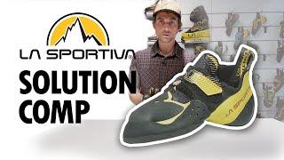 Женские скальные туфли для боулдеринга La Sportiva Solution Comp Woman