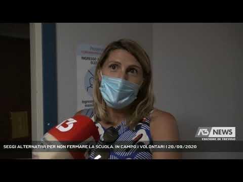 SEGGI ALTERNATIVI PER NON FERMARE LA SCUOLA. IN CAMPO I VOLONTARI | 20/09/2020