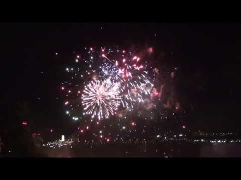 20th Anniversary of the Niagara Falls Fireworks Series
