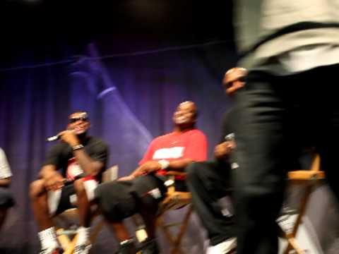 Nike  LeBron James More Than A Game Community Day   New York City   More Than A Game Cast Panel
