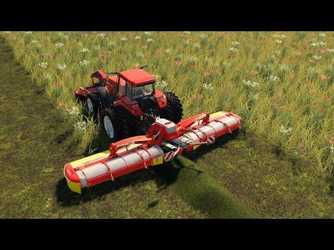 Jones Dairy Farm | Seasons | EP#24 |  Mowing | FS19 Timelapse | Farming Simulator 19 Timelapse