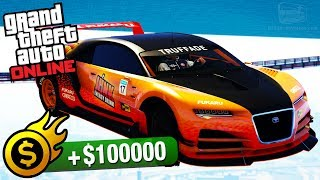 Grand Theft Auto Online - Premium Race Guide / Walkthrough Video in Full HDAll Premium Races Playlist:https://www.youtube.com/playlist?list=PLQ3KzJPBsAHkpUXskDb2n7o7QCmRjDx7j===================================Premium Race: SpinnerVehicle used: Nero Custom (all upgrades maxed out)Entry fee: $20,0001st place: $100,0002nd place: $30,0003rd place: $20,000It's the kind of board meeting that's at the heart of a rock-solid economy. Just strap yourself into a million dollars of supercar, wash down a handful of plant food with a can of junk, black out whipping round the outside of the Maze Bank Tower, and then make some really sensible investment decisions. Lap race for supercars.Premium Race for Super Cars. ===================================Video recorded on: PC=================================== GTA Series Videos is a dedicated fan-channel keeping you up to date with all the latest news, video walkthroughs and official trailers of the most successful video games published by Rockstar Games, including Grand Theft Auto series, Red Dead Redemption, Max Payne, L.A. Noire, Bully and many others.This channel is in no way tied to Rockstar Games or Take-Two Interactive.Follow GTA Series Videos on: YouTube - http://www.youtube.com/GTASeriesVideos Google+ - http://www.google.com/+GTASeriesVideos Facebook - http://www.facebook.com/GTASeriesNews Twitter - http://www.twitter.com/GTASeriesFor more info and videos visit:http://www.GTASeriesVideos.com  http://www.GTA-Series.com  http://www.GTA-Downloads.com  http://www.Games-Series.com