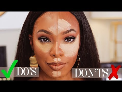MAKEUP FOR BEGINNERS: HIGHLIGHT & CONTOUR DO'S AND DON'TS | KYRA KNOX
